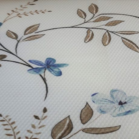 4024 Dekor Blume blau