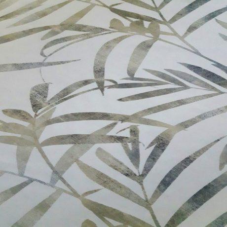 4030 Dekor Blatt grün