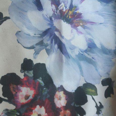 4065 Dekor Blumen beige