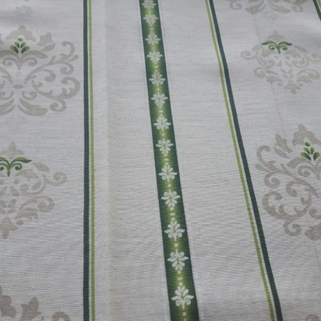 4071 Dekor Ornament/streif grün-grau