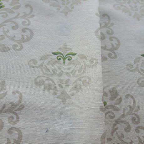 4072 Dekor Ornament grün
