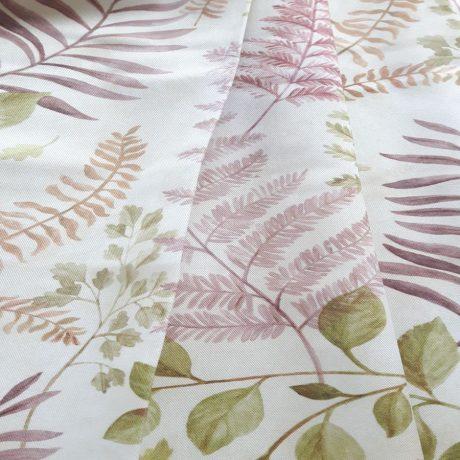 4037 Dekor Blätter rosa