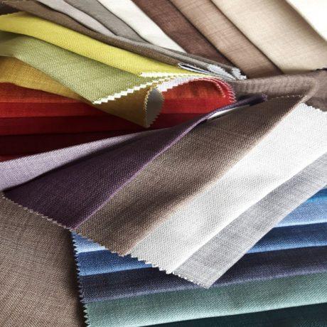 2857 Dekor/Verdunkler Leinenoptik diverse Farben