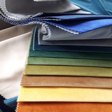 3651 Dekor Samt diverse Farben
