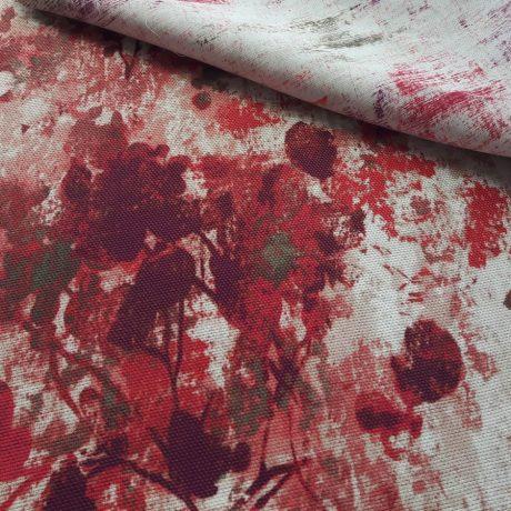 4090 Dekor/Dimout texturiert rot